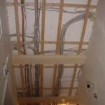 Bau einer Holzdecke