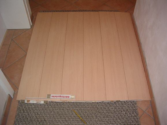 Holzdecke Flur 4