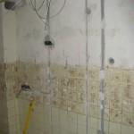 Leitungsverlegung in der Küche